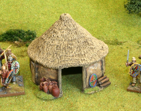 how to build a celtic roundhouse