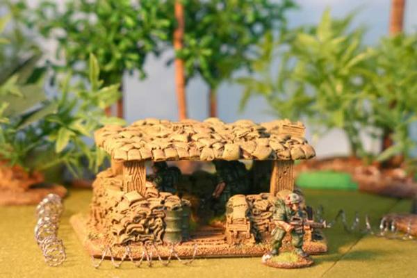 Sandbag Bunker