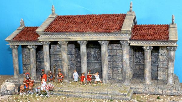 Classic Greek Roman Palace