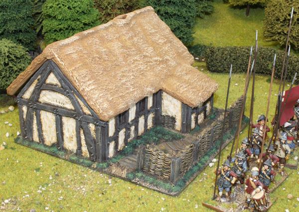 Large Cruck Frame Cottage
