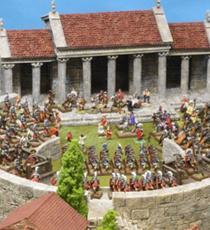 Home | GrandManner - Scale resin models and terrain buildings for