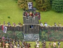 Arthurian/Saxon straight wall tower
