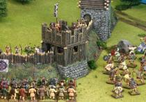 Arthurian/Saxon corner wall tower