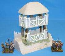 Celtic Straight Wall watch tower
