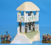 Celtic Corner wall watch tower