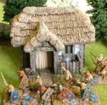 Darkage medium thatched dwelling