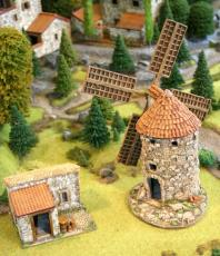 Spanish windmill / painted.