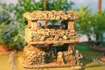 Two storey bunker watch tower