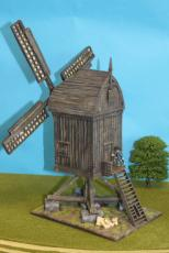 Flemish Post Windmill