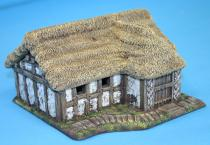 Large Darkage dwelling - thatch roof