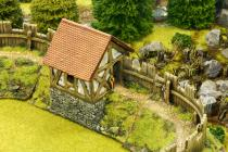 Norman straight wall guard house