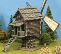 Log Windmill