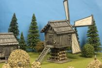 Timber Windmill