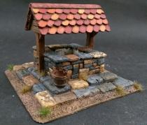 Village well - tile canopy
