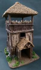 timber framed watch tower