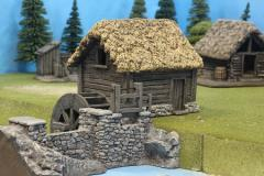 Millhouse Wheel Set - Thatch Roof