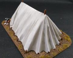 Belled open ridge tent -base A pack- tricorn