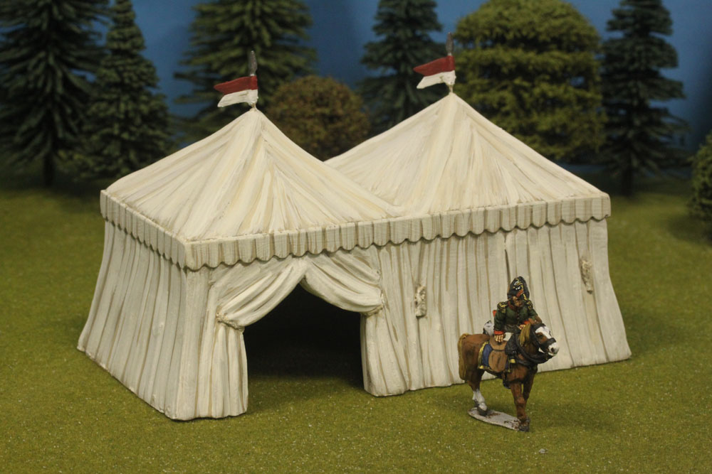 Twin Command Tent